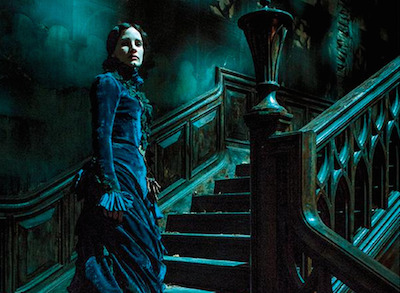Check Out This Jessica Chastain Image from Upcoming Guillermo de Toro Horror Flick, Crimson Peak