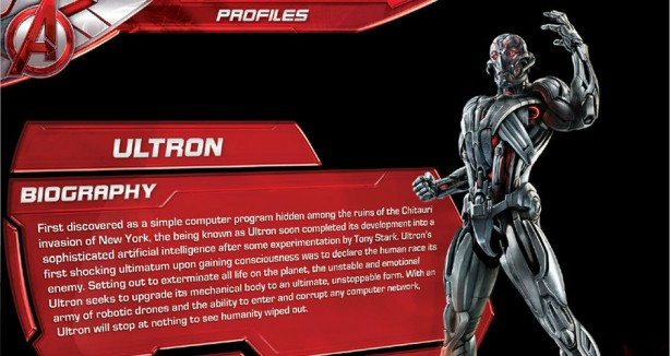 New Art Reveals Design and Backstory for Ultron and The Vision