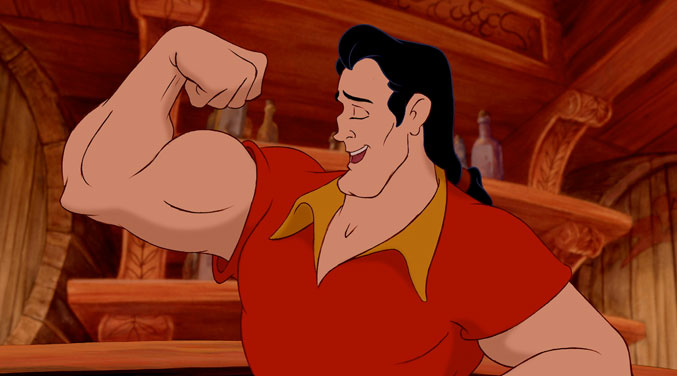 Watch This Little Girl Go Toe To Toe With Disney World's Most Disgusting Villain, Gaston!
