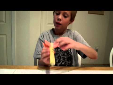 Watch This Adorable Third Grader Explain His Science Project and Make a 'Science Rocket'