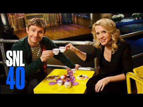 Watch Martin Freeman and Kate McKinnon KILL IT in This Week's SNL Promo