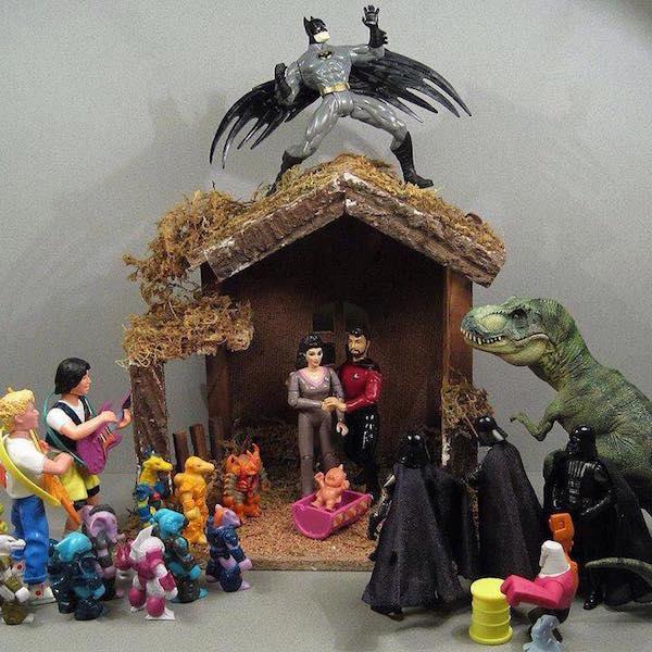The Weirdest and Geekiest Nativity Scenes