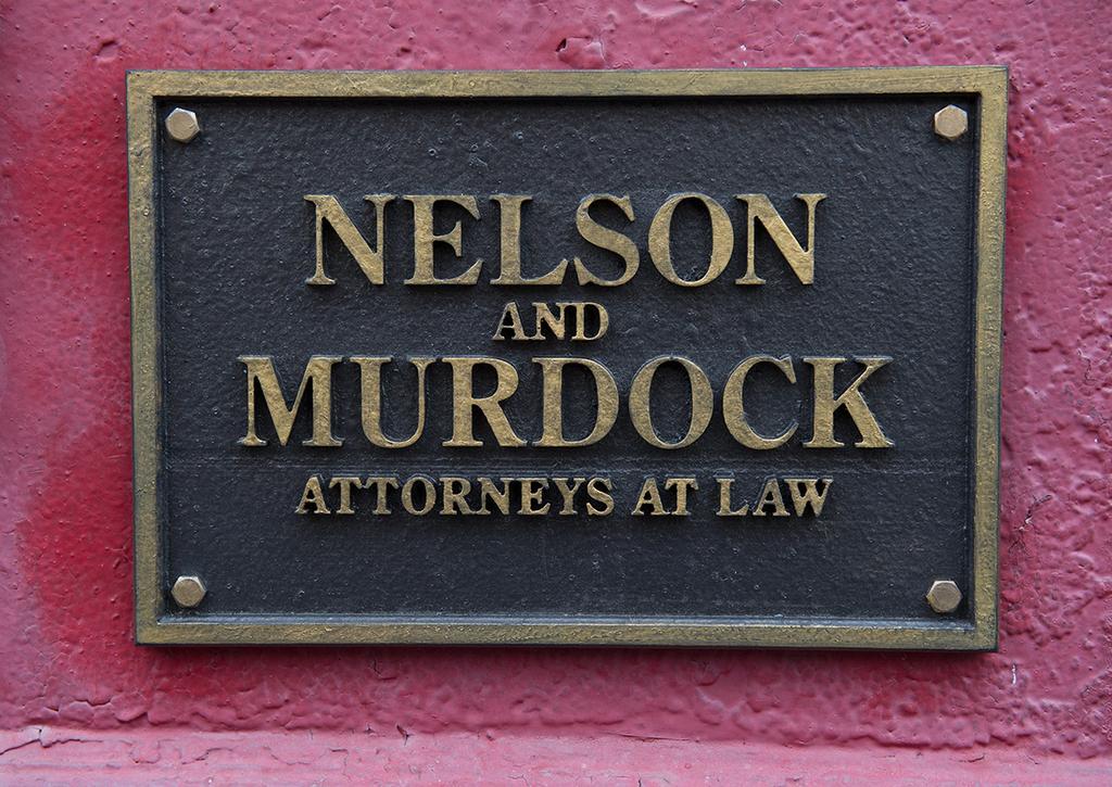 Nelson & Murdock Sign Appears on Twitter