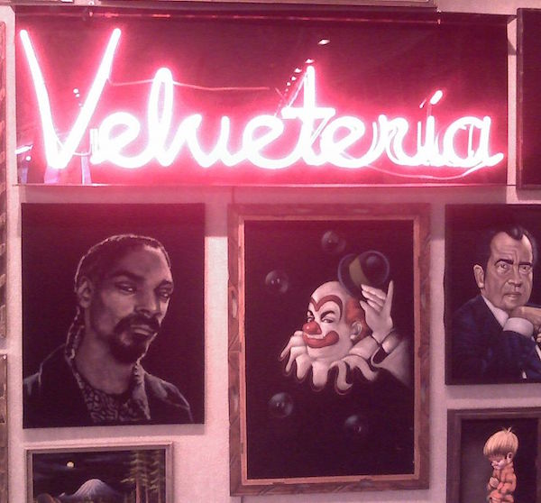 Hey L.A.! Check out the Plush Gloriousness of VELVETERIA
