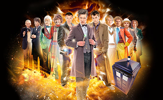 Every Doctor Who Regeneration
