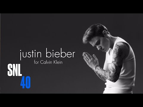 Kate McKinnon Nails Justin Bieber with Calvin Klein Ad Spoof