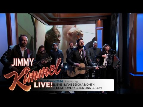 The Decemberists Sing YouTube Comments on Jimmy Kimmel and It Is Perfect