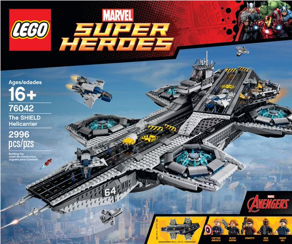 LEGO Helicarrier Playset or Coolest Thing Ever Made? You Decide.