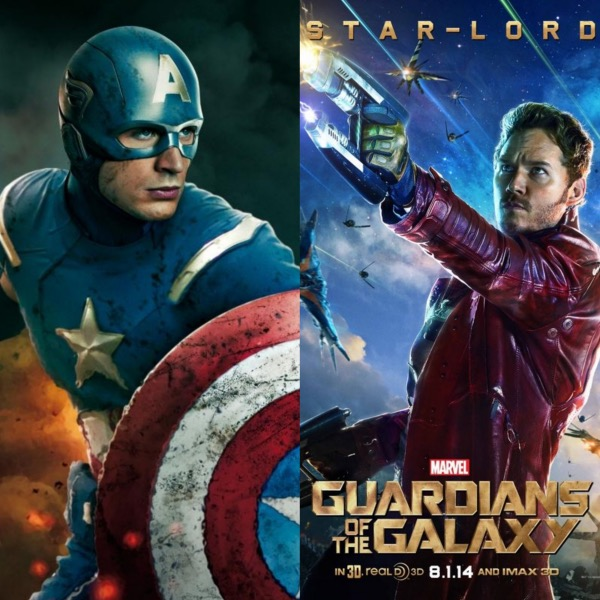 Star-Lord vs. Captain America in the Best Super Bowl Bet Ever!