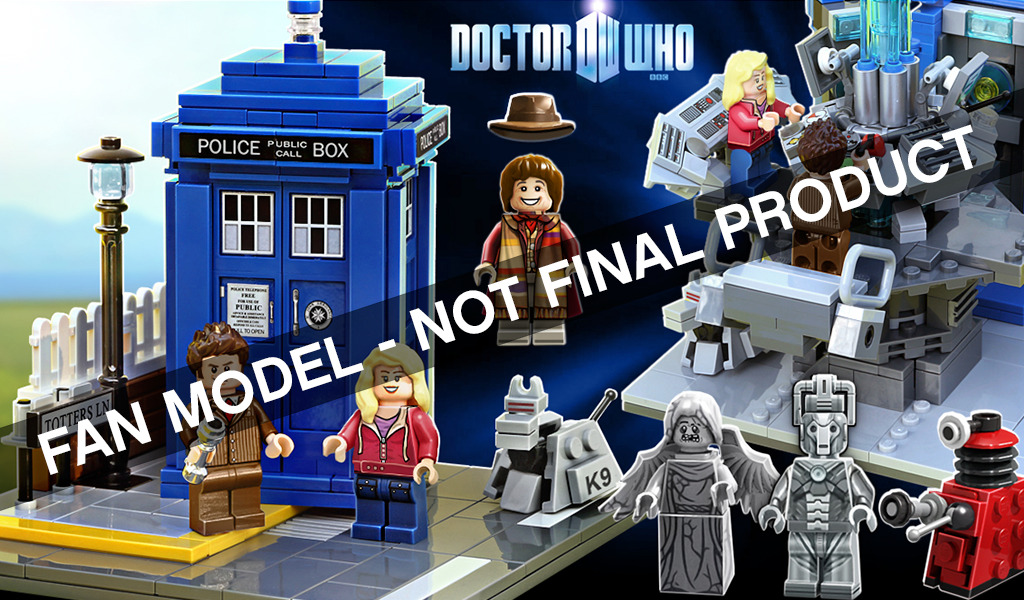 Doctor Who and Wall-E Lego Sets!