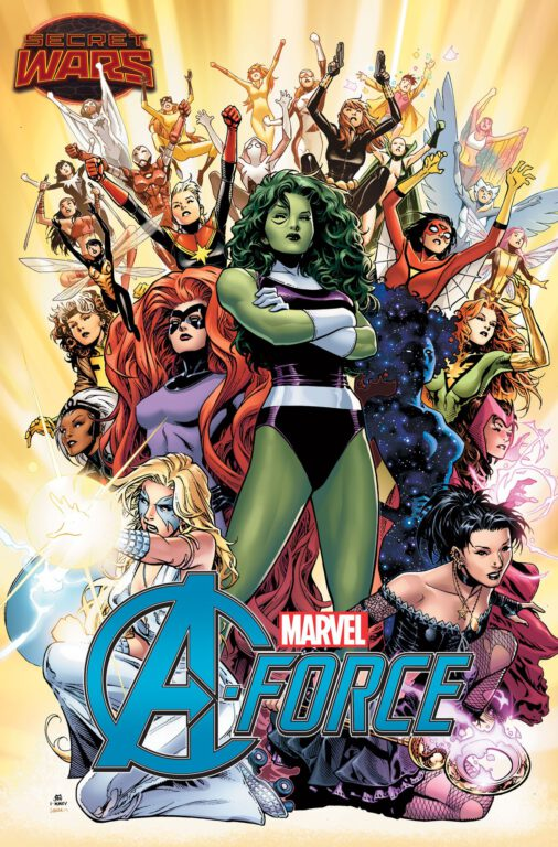 Marvel Announces an All-Female Avengers Team with A-Force