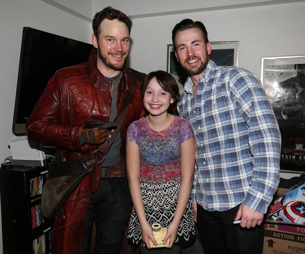 A Tale of Two Chris's Continues: Chris Evans and Chris Pratt Settle Their Super Bowl Bet and It's Awesome