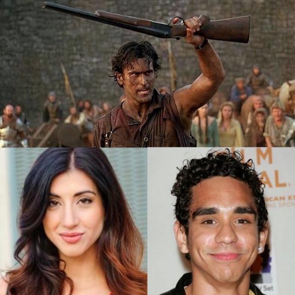 Ray Santiago, Dana DeLorenzo Cast in Upcoming Evil Dead Series on Starz