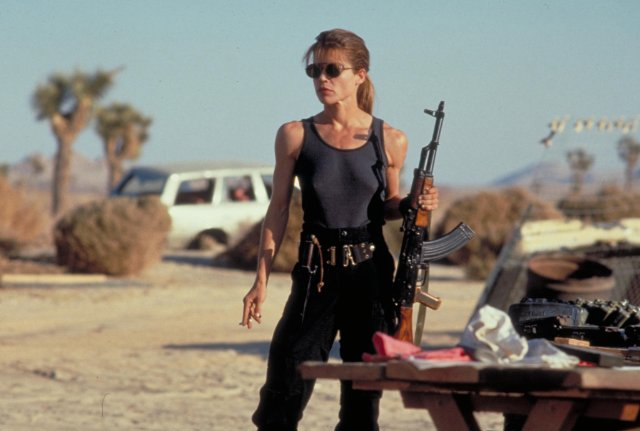 Women In SciFi History Month-Linda Hamilton