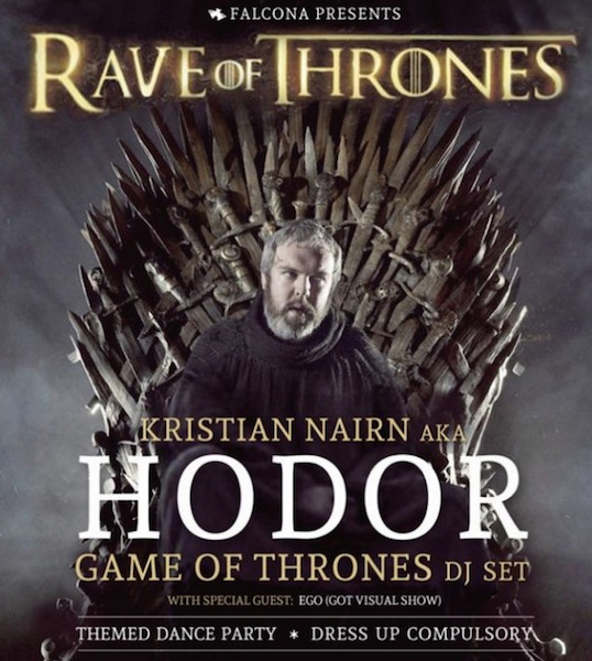 Rave of Thrones All Night Party Event