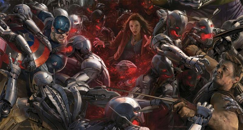 Chris Evans and Jeremy Renner Talk About the Family Dynamics in Avengers: Age of Ultron