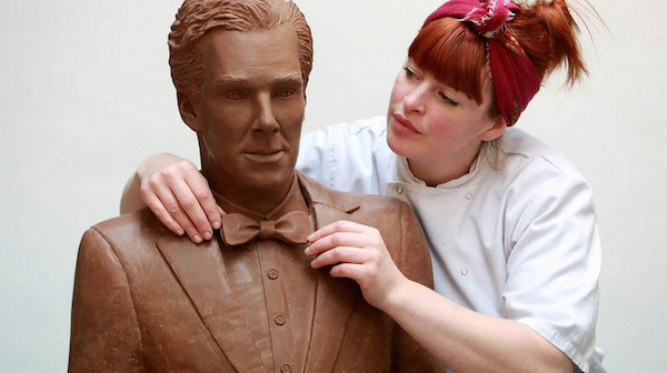 A Chocolate Benedict Cumberbatch Statue Exists