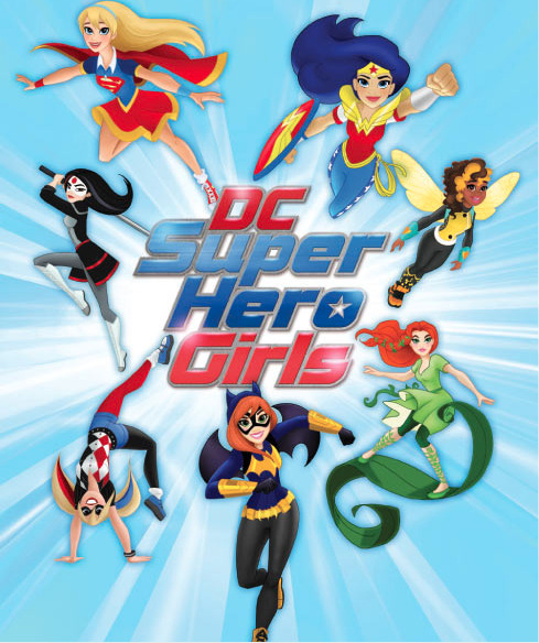 DC Entertainment and Warner Bros. Launch 'DC Super Hero Girls' from LEGION OF LEIA