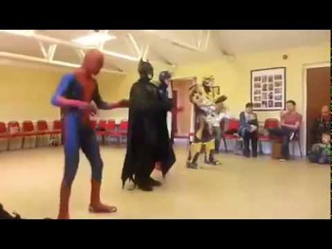 """Superheroes Get Down To """"Uptown Funk"""""""