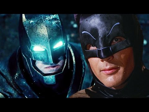 Batman VS Superman Starring Adam West And Christopher Reeve