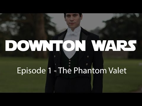 Watch This Star Wars / Downton Abbey Mashup From Rob-James Collier For Charity! -FROM LEGION OF LEIA