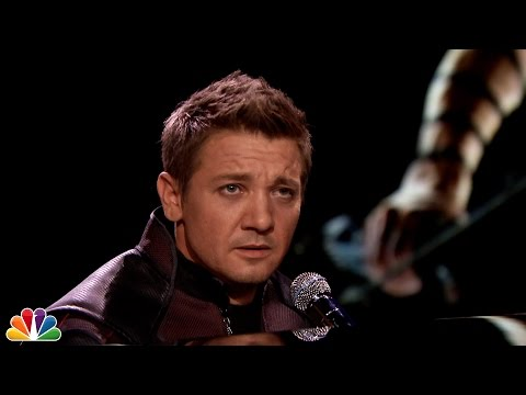 Hawkeye on Jimmy Fallon Is Serious Guys! He's Got Powers Too!