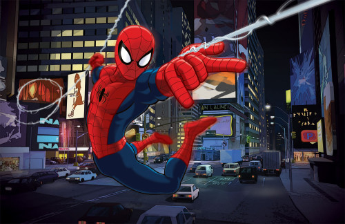 Sony Plans an Animated Version for Spider-Man, To Be Released in 2018