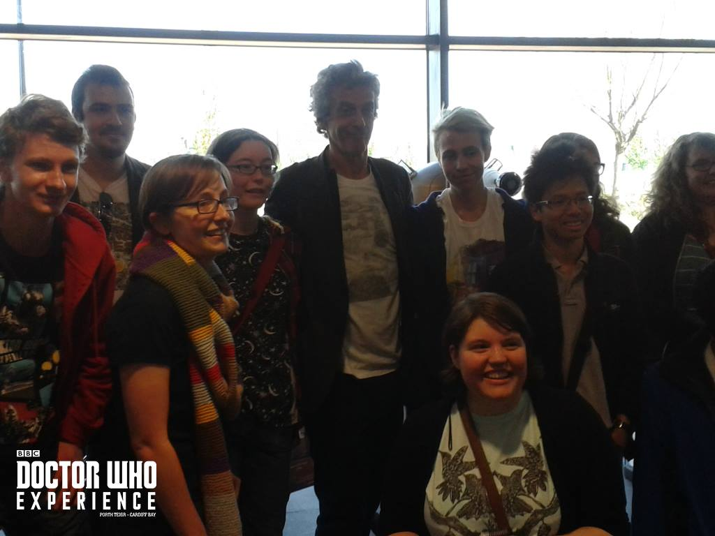 Peter Capaldi Stops By The Doctor Who Experience, Again!