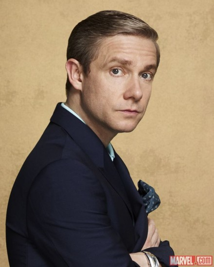Martin Freeman Enters the Marvel Cinematic Universe in Captain America: Civil War!