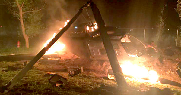 A Helicopter Crashes in Another Pic From Set of Preacher
