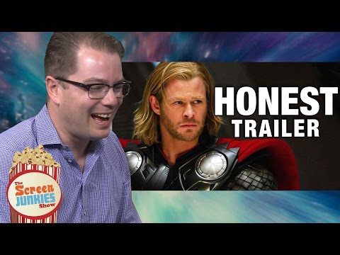 Watch the Screenwriter for Thor Watch Screenjunkie's Honest Trailer