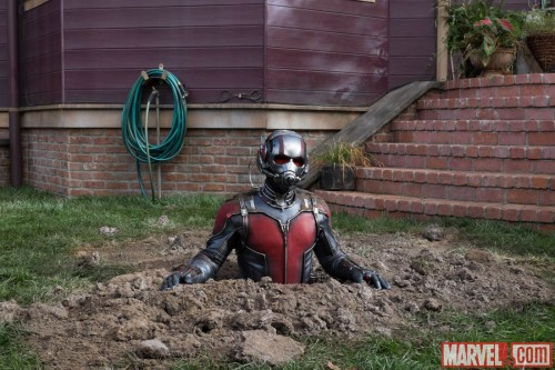 Ant-Man Makes a Wrong Turn at Albuquerque in New Stills from Marvel