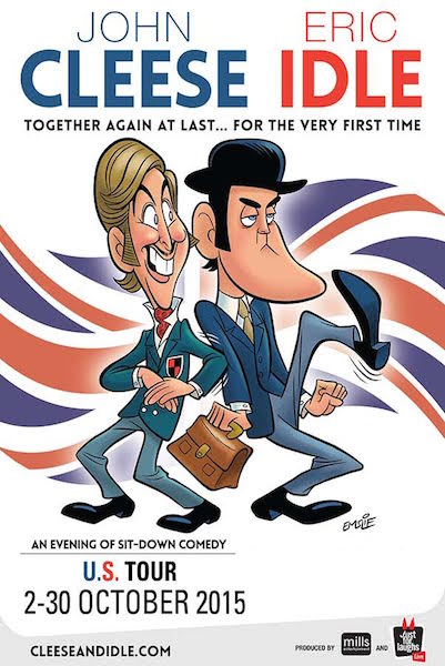 John Cleese And Eric Idle Are Going On Tour!