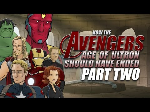 'How It Should Have Ended' Releases Part II for Avengers: Age of Ultron