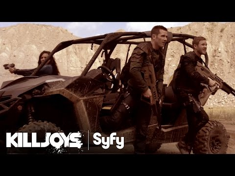 New Syfy Series KILLJOYS Premieres June 19th – Space Bounty Hunters!!! Check Out the Trailers Here!