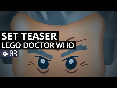 It's The Official Teaser For The The Doctor Who LEGO Set!