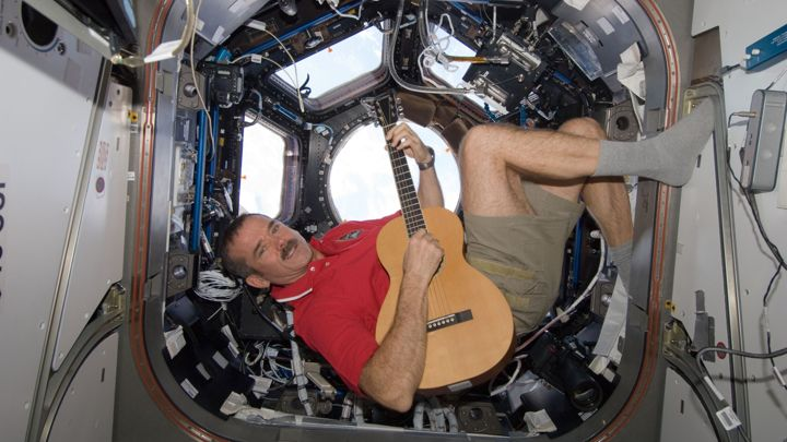 Astronaut Chris Hadfield To Release An Album Recorded In Space
