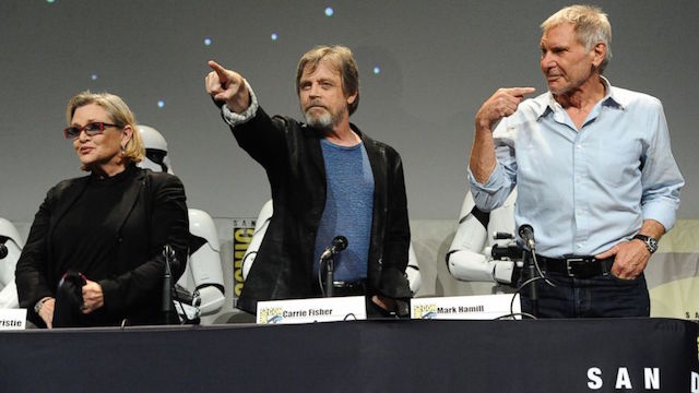 Top 5 Moments From San Diego Comic-Con 2015: Star Wars: The Force Awakens Panel