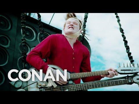 The Conan O'Brien Show Furiously Makes Their Way Down To San Diego Comic-Con!
