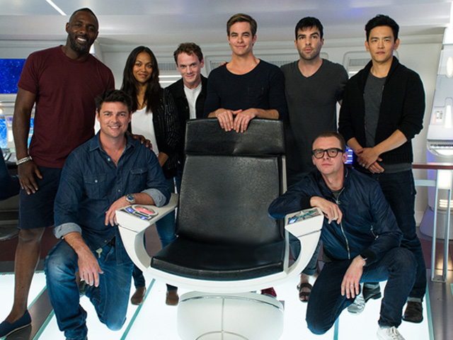VIDEO: Win a Walk-On Role in Star Trek Beyond, Watch Idris Elba's Sick Dance Moves and See Who Simon Pegg Calls 'Thundernuts' – ALL FOR CHARITY!
