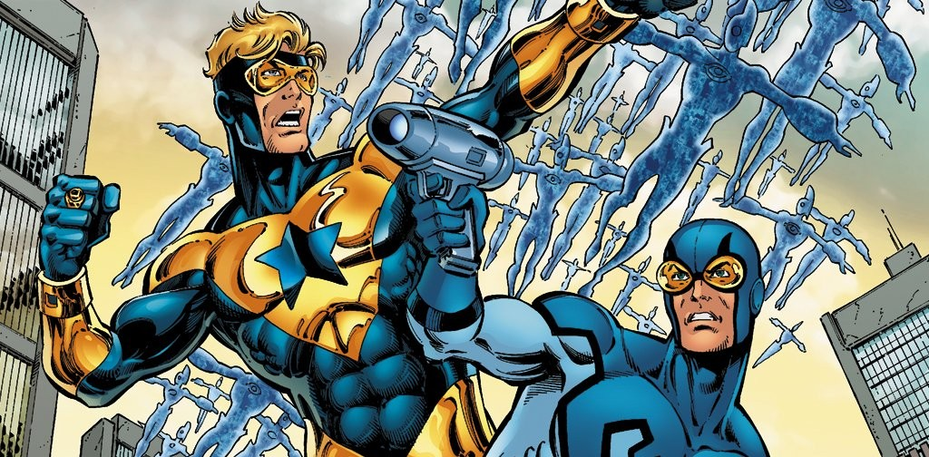 Blue Beetle and Booster Gold Could Be Blasting Their Way into the Cinemas!