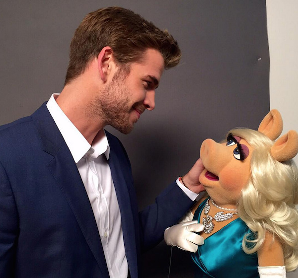 Liam Hemsworth to Appear on ABC's The Muppets!