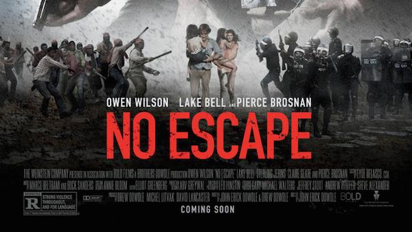 Movie Review – NO ESCAPE
