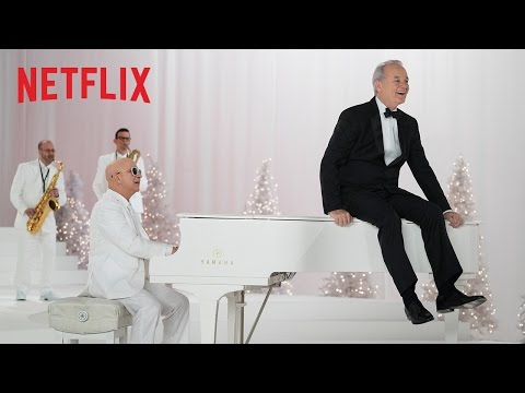 Everyone! There's a Bill Murray Christmas Special Coming to Netflix!!!
