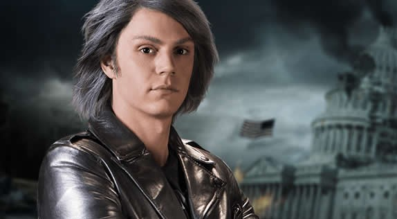 Evan Peters Is Excited For How Much Quicksilver There Is in X-Men: Apocalypse!