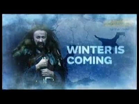 Finnish Weatherman Delivers Cold Weather Forecast Game of Thrones Style!