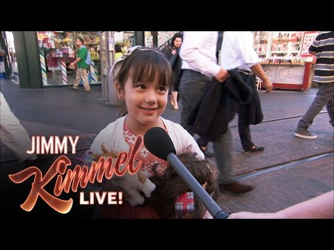 Jimmy Kimmel Has Young Kids Share What They Are Thankful For This Thanksgiving and It's Adorable