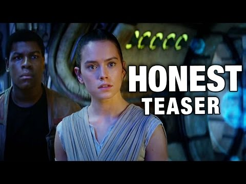 Honest Trailers Takes on the Star Wars: The Force Awakens Trailer and Gives All the Nerds a Hilarious What For!