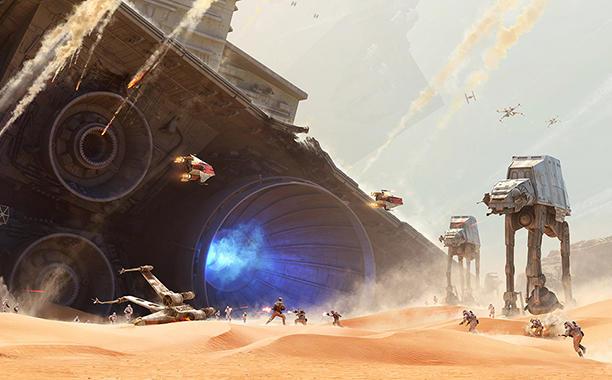Watch the Star Wars Battlefront: Battle of Jakku Teaser Trailer Now