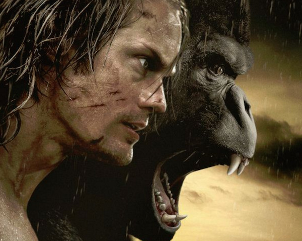 WATCH: First Teaser Trailer for Legend of Tarzan with Alexander Skarsgard (and His Abs)